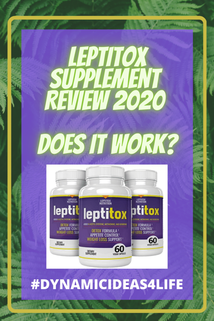 Leptitox Supplment Review 2020