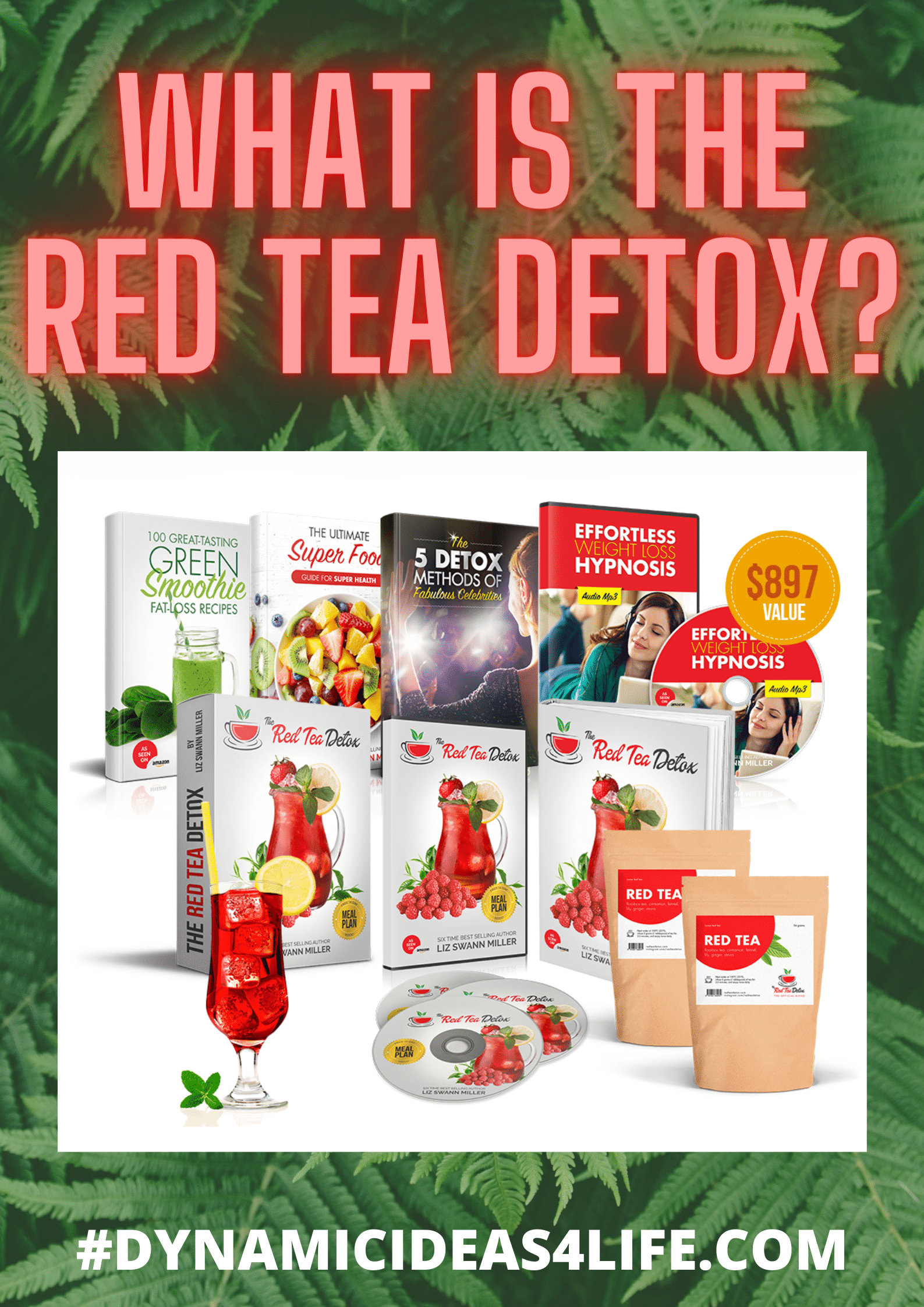 what is the red tea detox