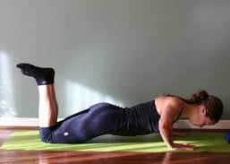 Bent Knee Pushup Picture