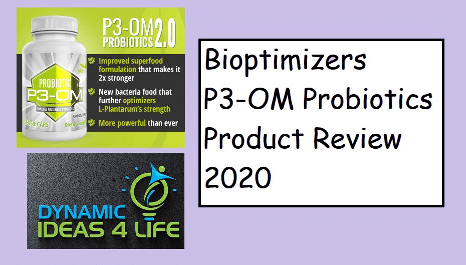BiOptimizers P3-OM Probiotics