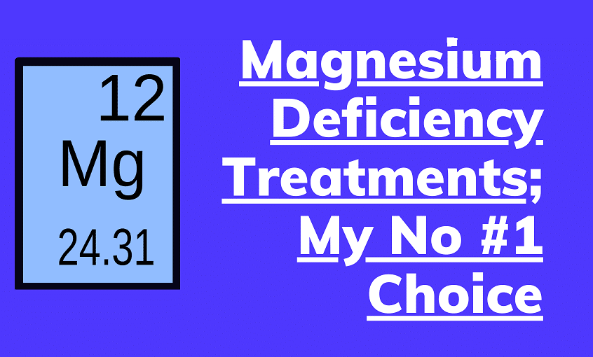 magnesium deficiency treatments