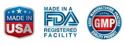 FDA and GMP Approved
