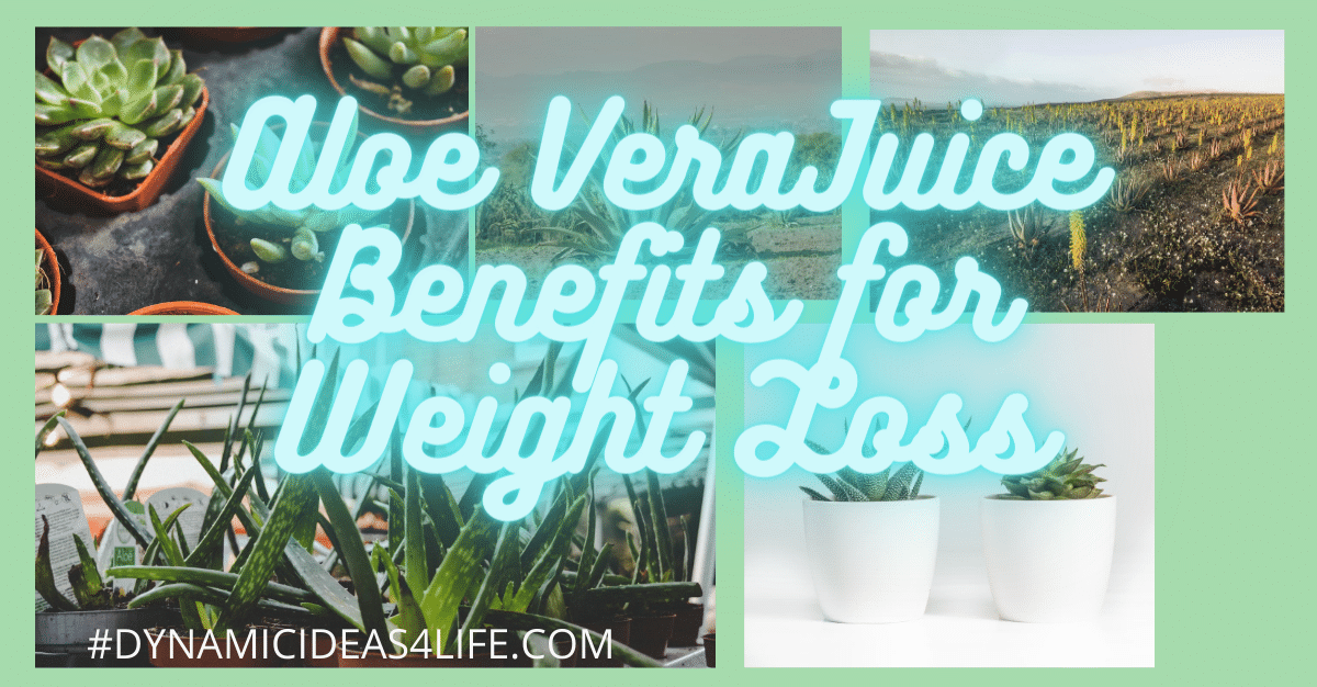 Aloe vera juice benefits for weight loss