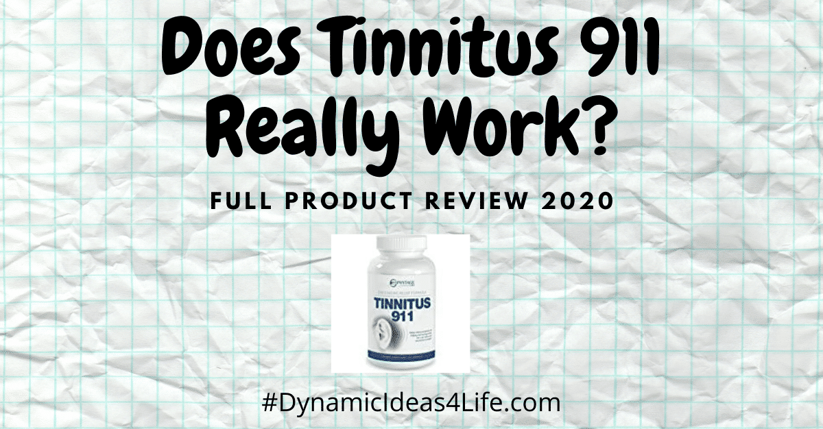 Does Tinnitus 911 Really Work?
