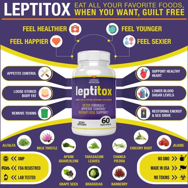 Leptitox Supplement Review Ingredients