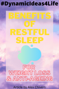 benefits of restful sleep for weight loss