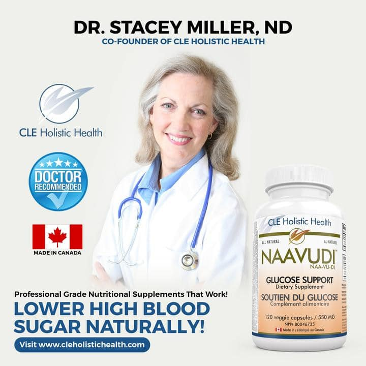 Lady-doctor. Lower-High-Blood- Sugar-Naturally.-Bottle-of-Naavudi- Glucose-Support