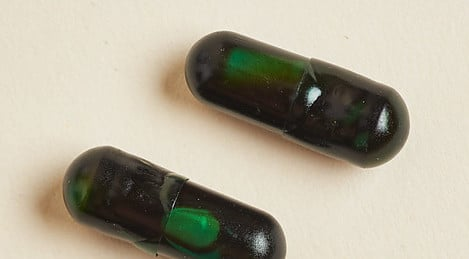 Double Capsule Tablet