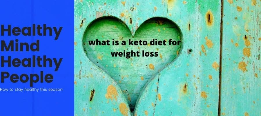 what is a keto diet for weight loss