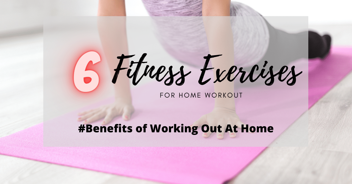 fitness exercises for home workout