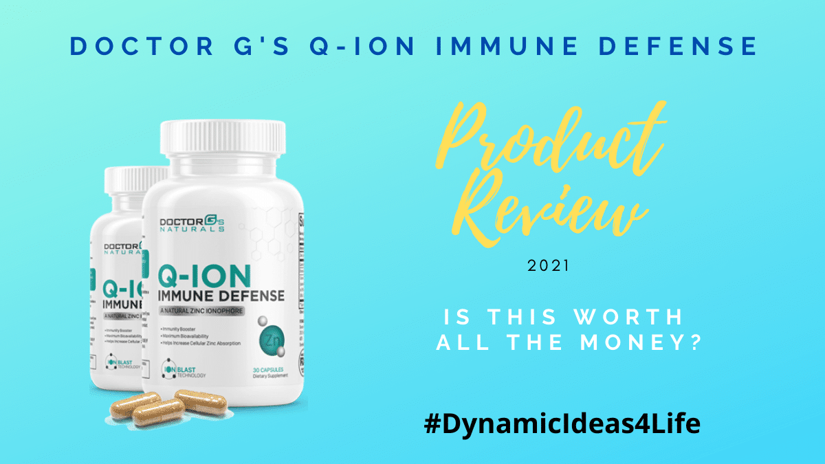 q-ion immune support by Dr G Review