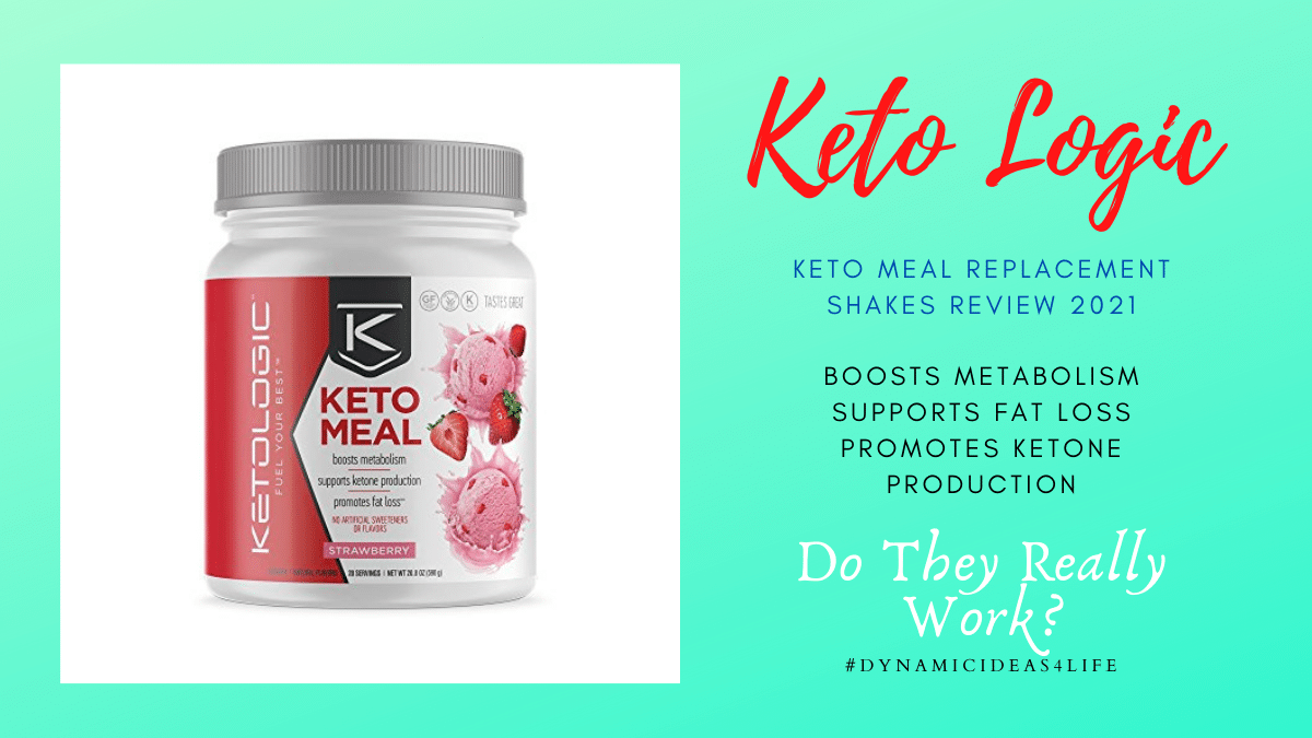 keto logic meal replacement shakes review 2021 by dynamicideas4life.com
