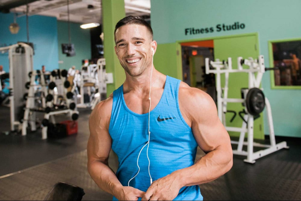 matt stirling creator of carbofix at the gym